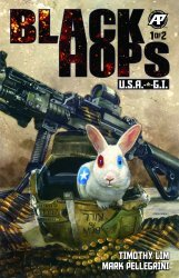 Antarctic Press's Black Hops USA GI Issue # 1