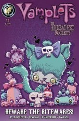 Action Lab Entertainment's Vamplets: The Undead Pet Society - Beware the Bitmares Issue # 1