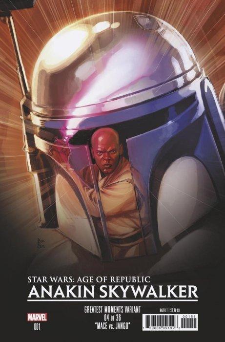 Star Wars: Age of Republic - Anakin Skywalker 1 (Marvel ...