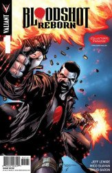 Valiant Entertainment's Bloodshot Reborn Issue # 1collector