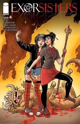 Image Comics's Exorsisters Issue # 4b