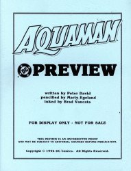DC Comics's Aquaman Issue # 0b