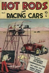 Charlton Comics's Hot Rods and Racing Cars Issue # 3