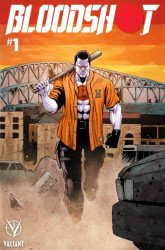 Valiant Entertainment's Bloodshot Issue # 1bedrock