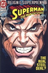DC Comics's Superman: The Man of Steel Issue # 25