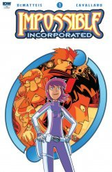 IDW Publishing's Impossible Inc. Issue # 1ri