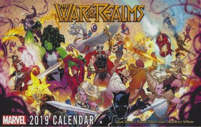 Marvel Comics's Marvel Calendars Issue # 2019
