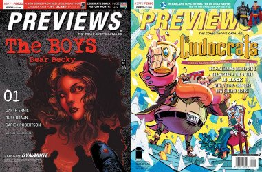 Diamond Comics Distribution's Previews Issue # 377