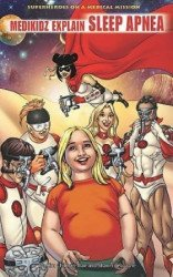 Rosen Publishing Group's Medikidz Explain Sleep Apnea Hard Cover # 1