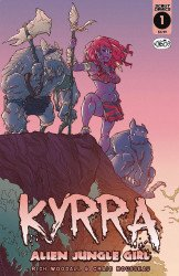 Scout Comics's Kyrra: Alien Jungle Girl Issue # 1