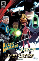 Dark Horse Comics's Black Hammer/Justice League: Hammer of Justice Issue # 2e