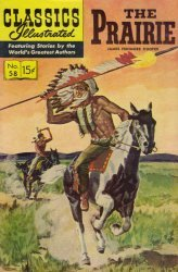 Gilberton Publications's Classics Illustrated #58: The Prairie Issue # 10