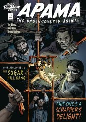 Hero Tomorrow Comics's Apama: The Undiscovered Animal Issue # 8