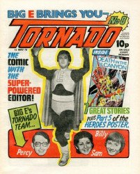 IPC Magazines's Tornado Issue # 8