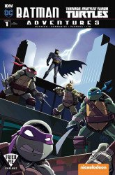 IDW Publishing's Batman / Teenage Mutant Ninja Turtles Adventures Issue # 1fried pie