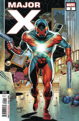Marvel Comics's Major X Issue # 2 - 2nd print