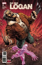 Marvel Comics's Old Man Logan Issue # 40