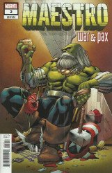 Marvel Comics's Maestro: War and Pax Issue # 2b