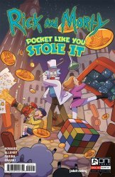 Oni Press's Rick and Morty: Pocket Like You Stole It Issue # 4b