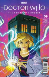 Titan Comics's Doctor Who: 13th Doctor Issue # 9
