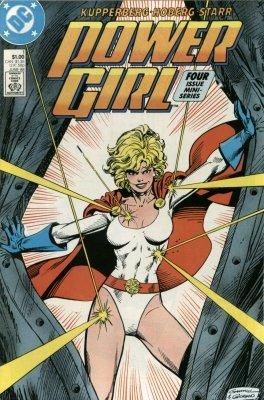 power girl issue 1 dc comics