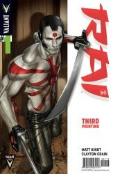 Valiant Entertainment's Rai Issue # 1q