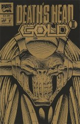 Marvel UK's Death's Head II Gold Issue # 1