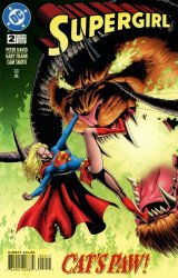 DC Comics's Supergirl Issue # 2