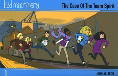 Oni Press's Bad Machinery Soft Cover # 1b
