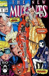 Marvel Comics's The New Mutants Issue # 98
