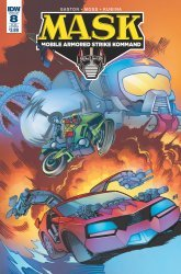 IDW Publishing's M.A.S.K.: Mobile Armored Strike Kommand Issue # 8sub