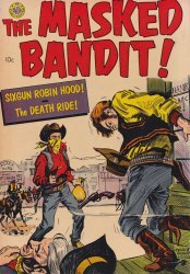 Avon Periodicals's The Masked Bandit Issue nn