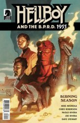 Dark Horse Comics's Hellboy and the B.P.R.D.: 1955 Burning Season Issue # 1