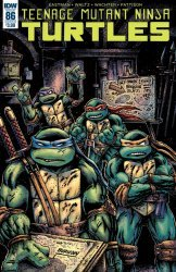 IDW Publishing's Teenage Mutant Ninja Turtles Issue # 86b