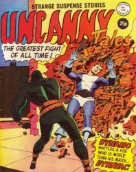 Alan Class & Company's Uncanny Tales Issue # 174