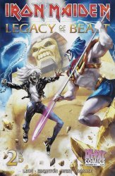Heavy Metal's Iron Maiden: Legacy of the Beast Issue # 2