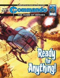 D.C. Thomson & Co.'s Commando: For Action and Adventure Issue # 5411