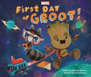 Marvel Press 's First Day Of Groot Hard Cover # 1