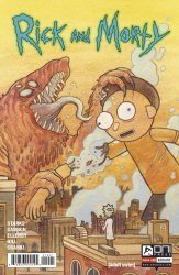 Oni Press's Rick and Morty Issue # 19b