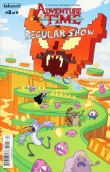 KaBOOM!'s Adventure Time/Regular Show Issue # 2