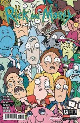 Oni Press's Rick and Morty Issue # 60b