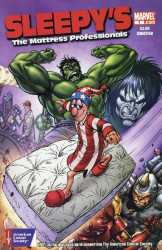 Marvel Comics's Sleepy's / Incredible Hulk Issue # 1