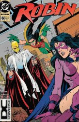 DC Comics's Robin Issue # 6b