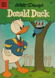 Dell Publishing Co.'s Donald Duck Issue # 55b