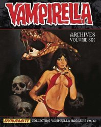 Dynamite Entertainment's Vampirella Archives Hard Cover # 6