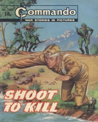 D.C. Thomson & Co.'s Commando: War Stories in Pictures Issue # 1587
