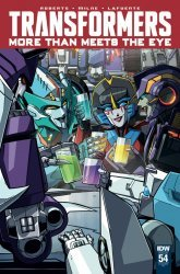 IDW Publishing's Transformers: More Than Meets the Eye Issue # 54ri