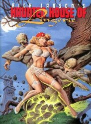 S.Q.P. Inc.'s Rich Larson's Haunted House of Lingerie Soft Cover # 1