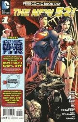 DC Comics's New 52: Free Comic Book Day Issue # 1comic paradise
