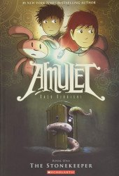 Graphix's Amulet Soft Cover # 1 - 2nd print